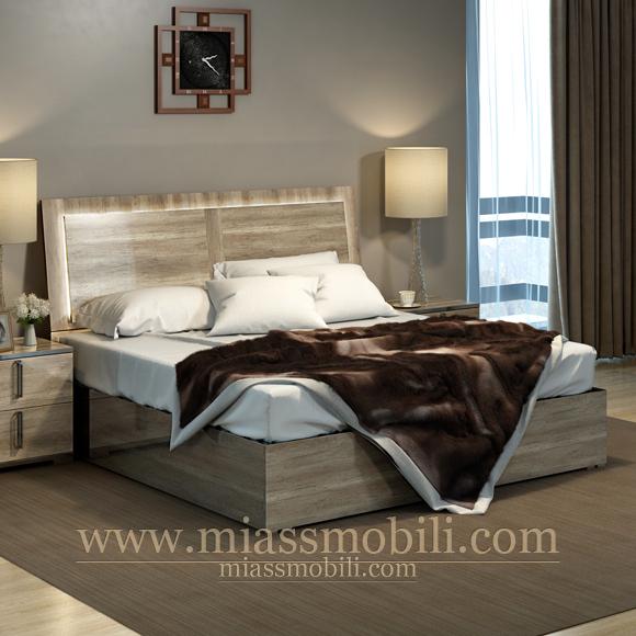Кровать без ножной спинки