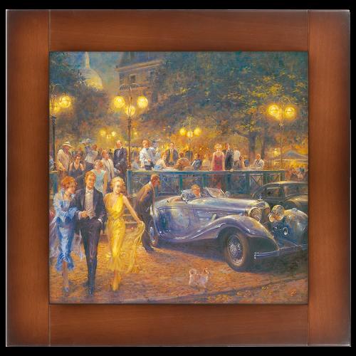 Репродукция картины Вечер на Монмартре